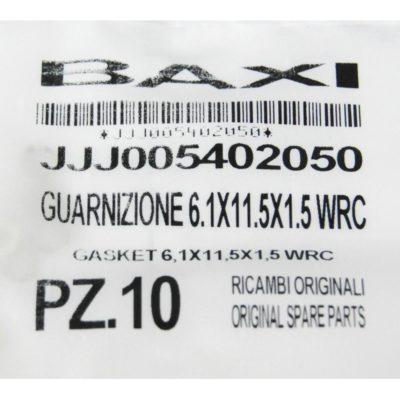 Уплотнение плоское кольцевое 6.1X11.5X1.5 JJJ5402050