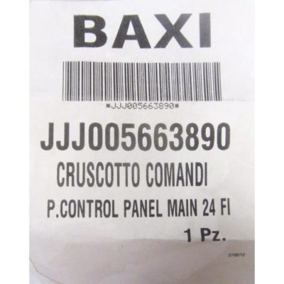 Крышка декоративная панели управления JJJ5663890