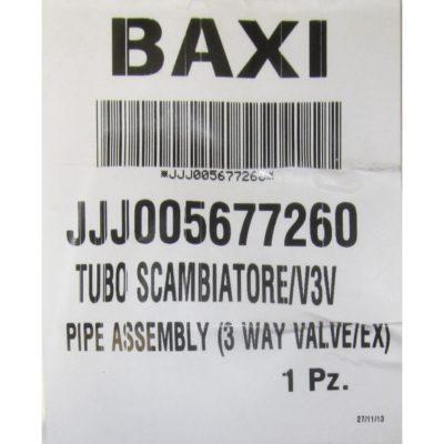 Трубка теплообменник/трехходовой клапан JJJ5677260
